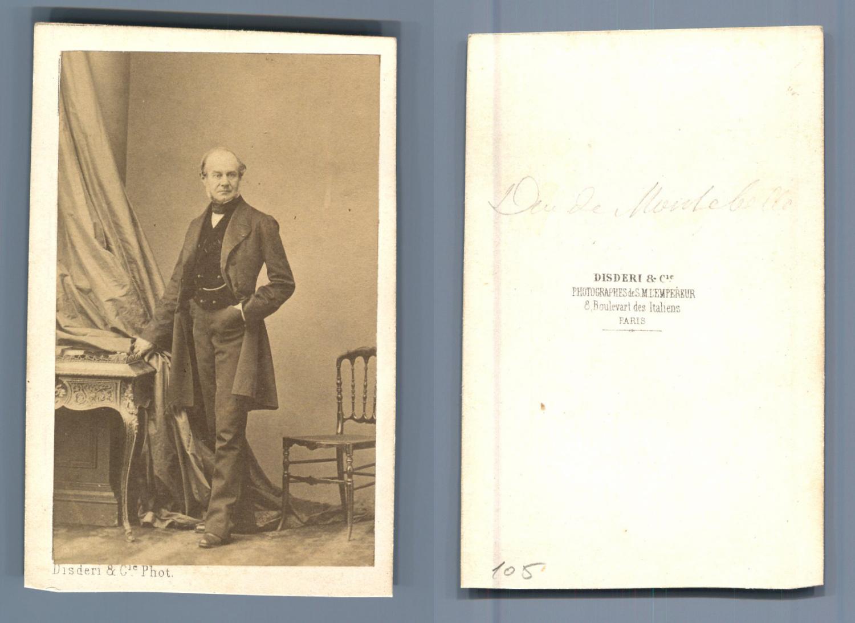 Disderi Duc De Montebello Photographie Originale