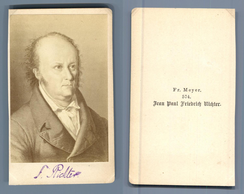 Jean Paul Friedrich Richter Dapres Dessin Photographie Originale