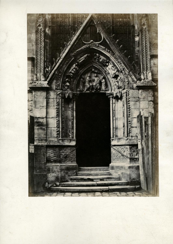 Vialibri Henri Le Secq Paris La Porte Rouge Notre Dame