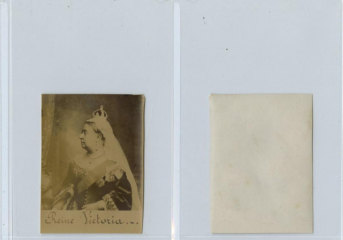 La Reine Victoria Du Royaume Uni Photographie Originale