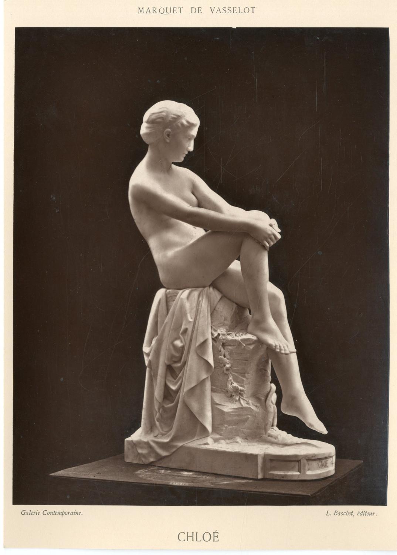 L. Baschet. France, Chloé Photographie originale / Original photograph [ ]   Photographie,Vintage albumen print // 1880 // Tirage albuminé // Format (cm): 18x24
