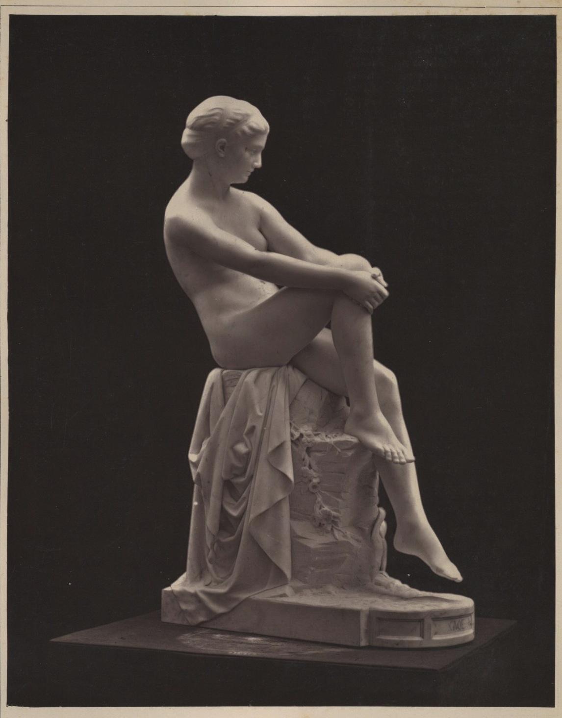 Goupil, France, Vasselot, Chloé Photographie originale / Original photograph Photographie,Vintage Print, Galerie Contemporaine // Circa 1880 // Photoglyptie // Format (cm): 18x24