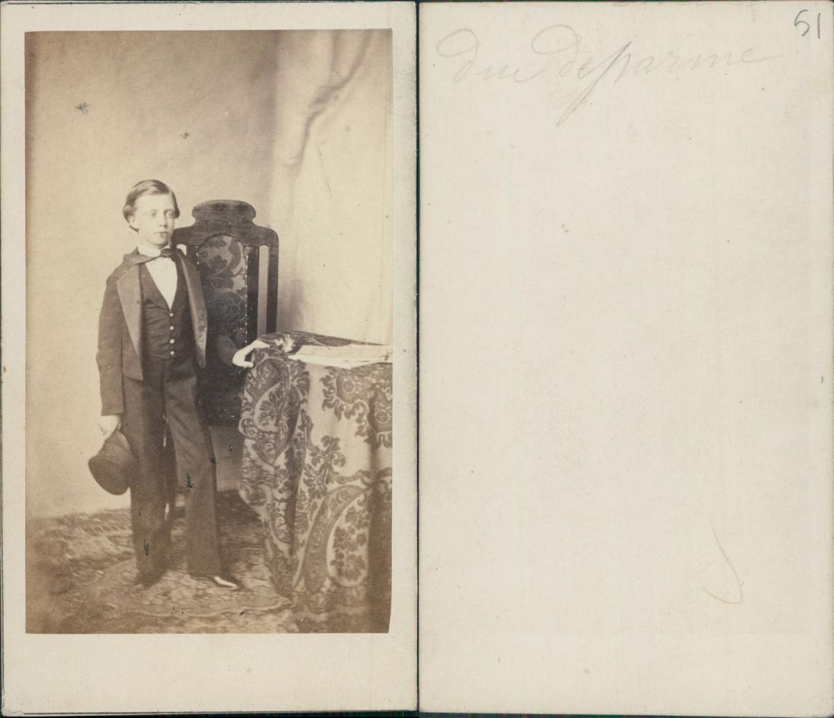 Duc De Parme Photographie Originale