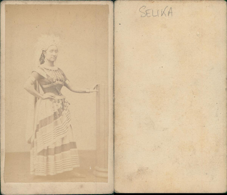 Selika Dans LAfricaine Giacomo Meyerbeer Photographie Originale Foto Des Verkaufers