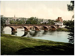 Kelso. Bridge and Abbey.