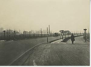 Pays Bas, La nouvelle route de Rotterdam: Photographie originale /