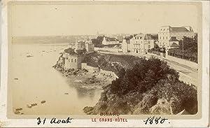 France, Dinard, Le Grand Hotel: Photographie originale /
