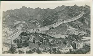 China, Peking, The Main Portion of Great Wall
