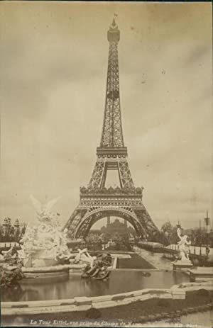 ND, Paris, La Tour Eiffel. Exposition Universelle 1889