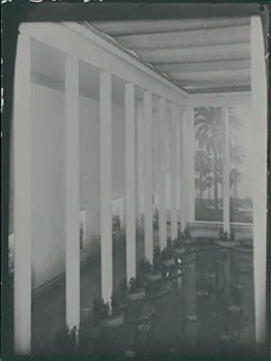 Exposition Internationale Paris, 1937. Pavillon de l'Irak. Intérieur