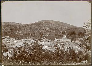 Puy de Dôme, Vieux Royat. Vue générale: Photographie originale /