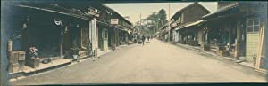 Japan, Panoramic View. Street Scene