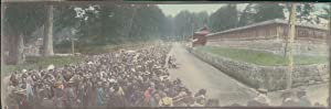 Japan, Panoramic View. Nikko Pilgrims