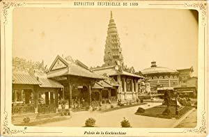 ND, Paris, Exposition Universelle de 1889. Palais de Cochinchine