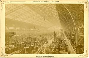 ND, Paris, Exposition Universelle de 1889. La Galerie des Machines