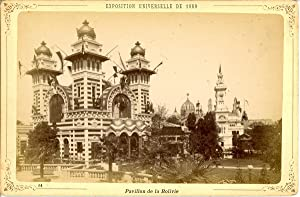 ND, Paris, Exposition Universelle de 1889. Pavillon de la Bolivie