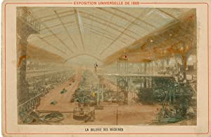 France, exposition universelle de Paris, la galerie des machines