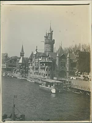 Paris, Exposition Universelle de 1900. Pavillon du Vieux Paris