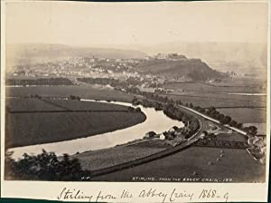 J.V., UK, Stirling Castle from the Abbey Craig 1869 (Scotland)