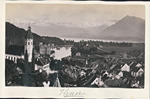 Switzerland, Thun, ca. 1870