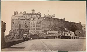G.W.W., UK, Edinburgh Castle from the Esplanade