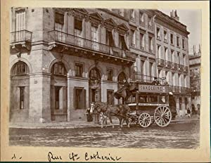 Bordeaux, Rue Sainte Catherine, ca. 1900