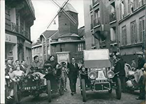 June Richmond à la course au ralenti de Montmartre, octobre 1959
