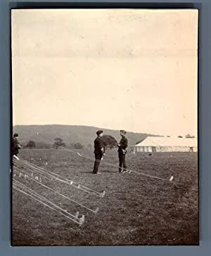 UK, Chatsworth (Derbyshire), 4th Battery. Cap Holloway and Adj. Miller