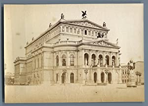 Sophus Williams, Deutschland, Alte Oper in Frankfurt am Main