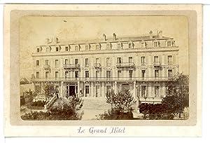 France, Arcachon, Le Grand Hôtel: Photographie originale /