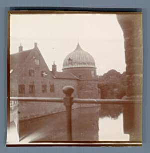 Sweden, Göta Canal, Castle on the Channel