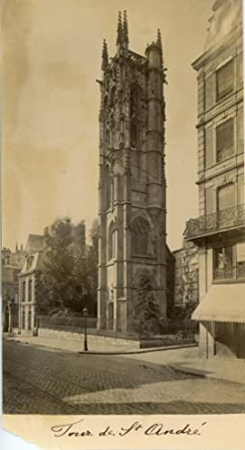 France, Rouen, Tour de Saint André