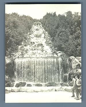 Italia, Reggia di Caserta. Fontana di Diana: Photographie originale /