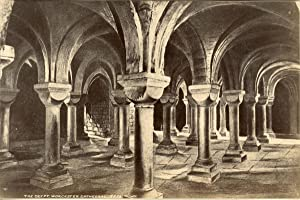 J.V., United Kingdom, The Crypt of Worcester Cathedral