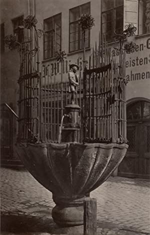 Germany, Nuremberg, Old Fountain