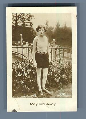 Actress Mac Mc Avoy: Photographie originale /