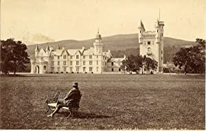 J.V., United Kingdom, Balmoral Castle from south