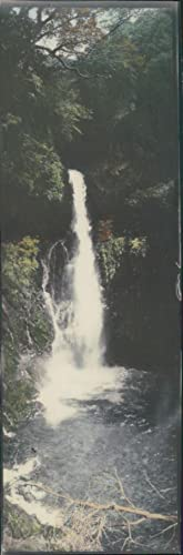 Japan, Panoramic View. Waterfall Landscape