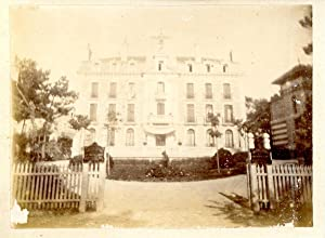 France, Arcachon, Le Grand Hôtel: Photographie originale /