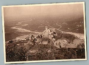 Italia, Assisi, Il Sacro Convento di San: Photographie originale /