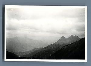 France, Col d'Allos (Alpes du Sud), 2250: Photographie originale /