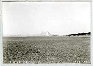 P. Dittrich, Egypte, Gizeh Pyramids