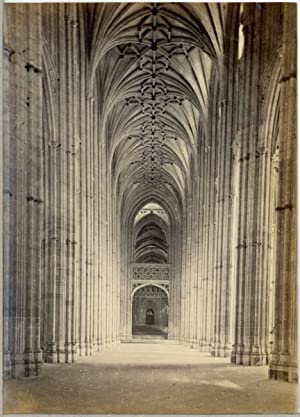 UK, Interior of the Canterbury Cathedral