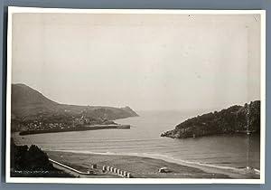 Espagne, Lekeitio (Lequeitio): Photographie originale /