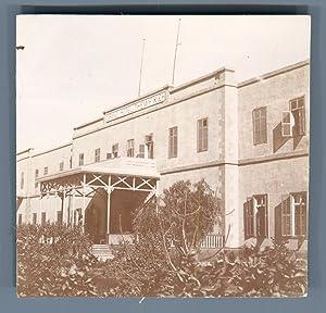 Egypte, Grand Hôtel Thewfikief: Photographie originale /