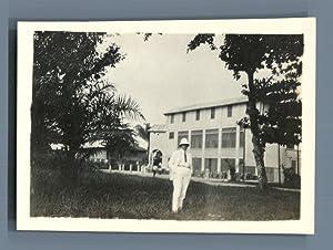 Cameroun, Douala, Le Grand Hôtel: Photographie originale /