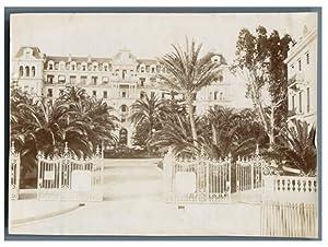 France, Cannes, Grand Hôtel: Photographie originale /