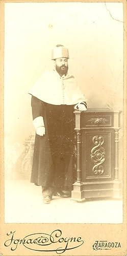 Ignacio Coyne, Zaragoza, Portrait d'homme: Photographie originale /