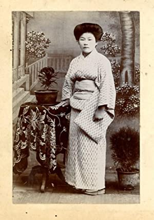 Japan, Young Japanese woman
