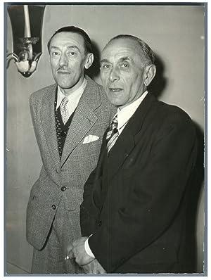 Emile Pages et Maurice Charles Renard, gagnants: Photographie originale /